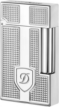 S.T. Dupont Ligne 2 Lighter Shield/Diamond Head Pattern Palladium