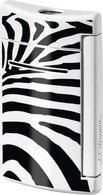 S.T. Dupont MiniJet Lighter Zebra Print