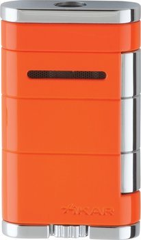 Xikar Allume Single Jet Lighter Knust Orange