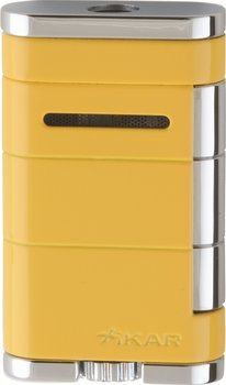 Xikar Allume Single Jet Lighter Electric Yellow