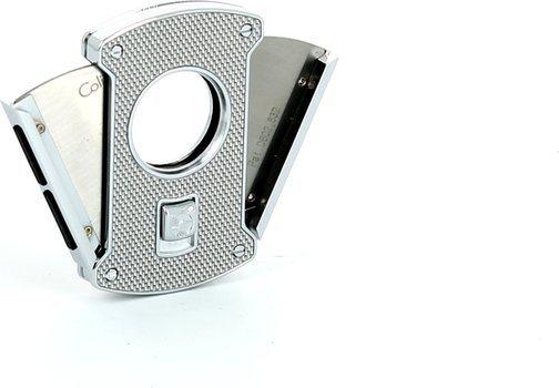 Karbonski srebrni rezač za cigare Colibri Slice