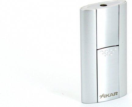 Xikar Flash Single Jet Flame Lighter Silver
