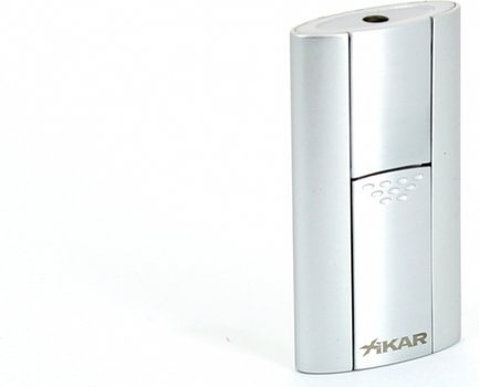 Xikar Flash Single Jet Flame Lighter Silver
