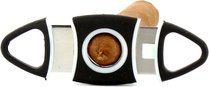 Adorini cigar cutter oval TRP-rubber coating <&&IMAGE&&> 100