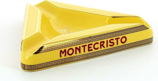 Trojúhelníkový popelník na doutníky Montecristo