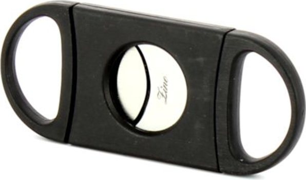 Zino Double Blade Cigar Cutter Black <&&IMAGE&&> 2