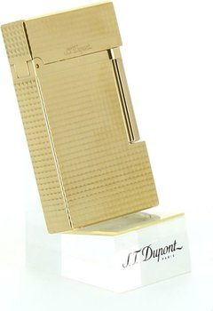 S.T. Dupont Ligne 2 16284 Lighter Fin Diamand-Hoved Guld