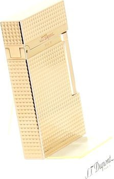 S.T. Dupont Ligne 2 Lighter Diamond-Head Yellow Gold