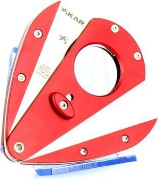 Červený ořezávač Xi1 s dvěma noži Xikar 1