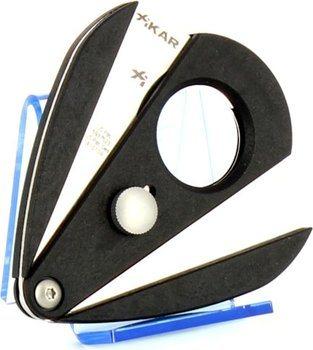 Černý ořezávač Xi2 s dvěma noži Xikar 2