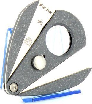 Xikar 2 double blade cutter - Xi2 silver