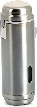 Winjet firedobbelt Jet Lighter Titanium med Cigar Punch