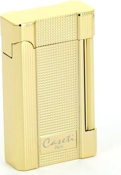 Caseti New York Lighter Guld Carré