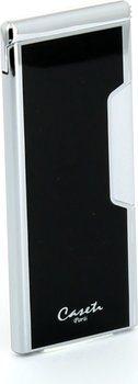 Caseti Piezo Slank Lighter Krom/Sort
