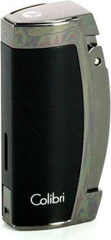 Colibri Enterprise 3 Cigar Lighter Sort/Pistolmetal