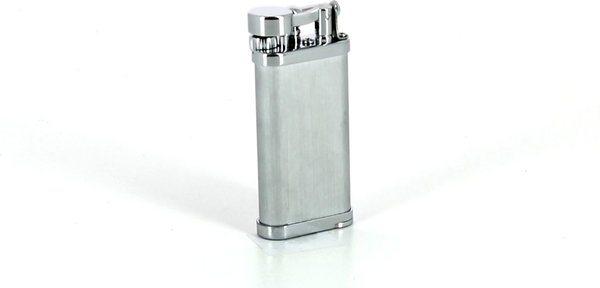 IM Corona Old Boy pipe lighter satin chrome