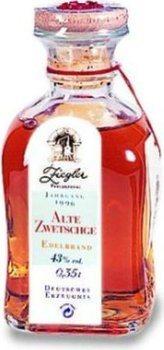 Ziegler Old Zwetschge Plum 0,35l - 1996 vintage- eau de vie