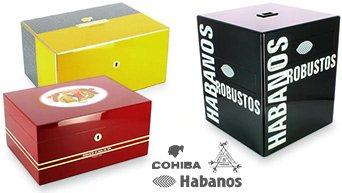 Cohiba Humidorer Montecristo, Habanos