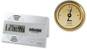 Higrométerek és hőmérők